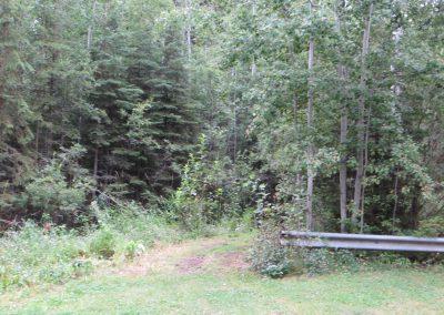 walking trail east entrance