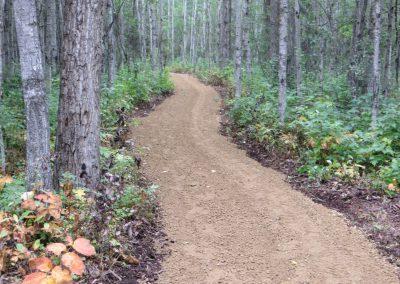 walking trail south